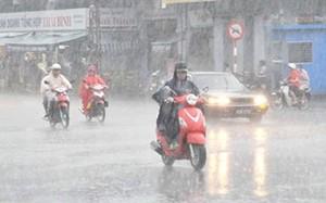 Bắc Bộ mưa lớn diện rộng, đề phòng lũ quét và sạt lở đất