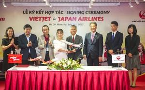 Japan Airlines và Vietjet hợp tác toàn diện, mở rộng mạng bay