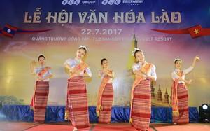 Lễ hội văn hoá Lào tại FLC Sầm Sơn thu hút 2.000 khách