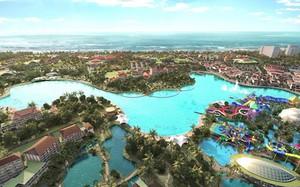 Phối cảnh dự án resort phức hợp của Suncity và Chow Tai Fook tại Hội An. Ảnh: Suncity.