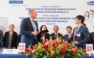 Vinamilk hợp tác với Tập đoàn dinh dưỡng hàng đầu thế giới