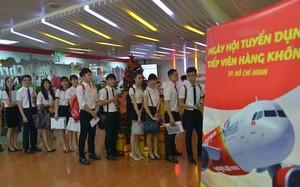 Vietjet tuyển tiếp viên tại Cần Thơ và TPHCM
