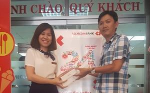 Khách hàng trúng thưởng tại Chi nhánh Nha Trang