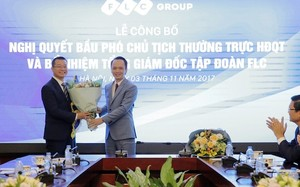 Tân Tổng giám đốc Trần Quang Huy và ông Trịnh Văn Quyết, Chủ tịch HĐQT Tập đoàn FLC.