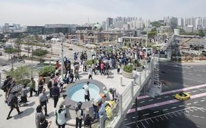 Seoullo 7017 - điểm check in mới của giới trẻ Hàn Quốc