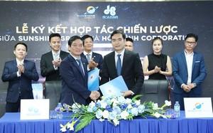 Hai bên ký kết Hợp đồng Tổng thầu thi công xây dựng dự án Sunshine City – dự án trọng điểm nhất của Sunshine Group