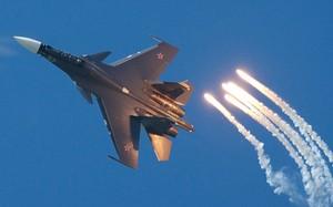 Một tiêm kích Su-30SM của Nga. Ảnh: Aviationist