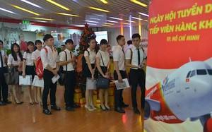 Vietjet tuyển tiếp viên, phỏng vấn tại Hà Nội và TP Hồ Chí Minh