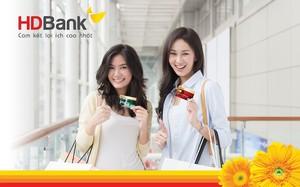 Mở thẻ Visa HDBank, giảm ngay giá vé Vietjet