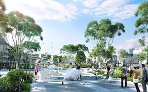 Quảng trường trung tâm dự án FLC Lux City Quy Nhơn