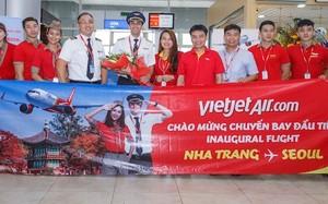 Vietjet tưng bừng khai trương đường bay Nha Trang – Seoul (Hàn Quốc)