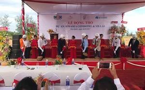 Tập đoàn CEO đã tổ chức động thổ triển khai Dự án Sonasea Condotel & Villas tại Bãi Trường, Phú Quốc (ảnh villascondotel).