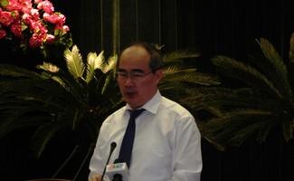 ông Nguyễn Thiện Nhân, Ủy viên Bộ Chính trị, Bí thư Thành uỷ TPHCM