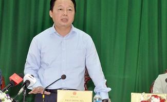 Bộ trưởng Bộ TNMT Trần Hồng Hà