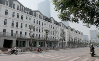Shophouse Belleville B4 Nam Trung Yên đang có dấu hiệu biến tướng thành mô hình nhà ở