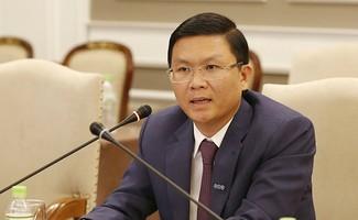 Ông Lê Thành Vinh, Tổng giám đốc Tập đoàn FLC, phát biểu tại hội nghị Hospitality Indochina 2017