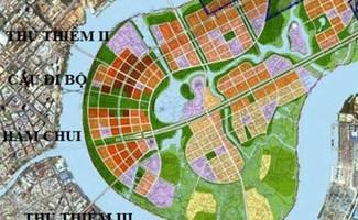 Theo quy hoạchsẽ có 5 cây cầu và một hầm chui nối trung tâm và các quận khác với khu đô thị mới Thủ Thiêm (quận 2).