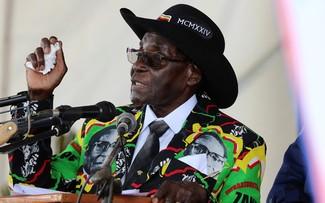 Tổng thống Zimbabwe Robert Mugabe. Ảnh: Reuters.