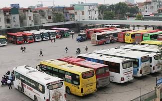 Hơn 750 lượt xe tại bến Giáp Bát, Nước Ngầm sẽ được sắp xếp, tổ chức lại