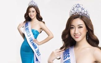 Hoa hậu Đỗ Mỹ Linh nói tiếng Anh trôi chảy tại Miss World