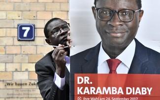 Bầu cử Đức: Nghị sĩ da đen bị đe dọa