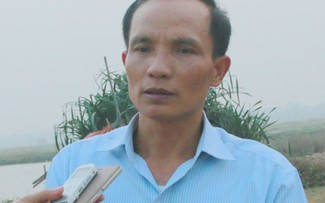 Ông Lê Đình Năng, Tổ trưởng tổ dân phố 13 phường Đồng Mai, Hà Đông.