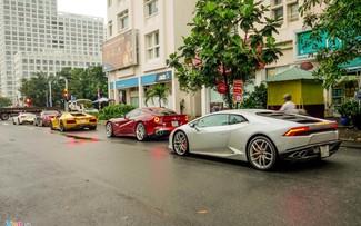 Cường Đô La dẫn đầu đoàn siêu xe tái khởi động Car Passion