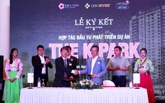The K - Park là dự án đầu tiên hai đơn vị hợp tác đầu tư phát triển.