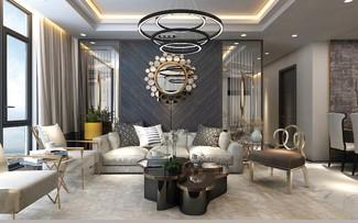 Căn hộ thượng lưu, nội thất đắt giá