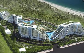 Phối cảnh minh họa ý tưởng đầu tư khu condotel 6 sao trong quần thể FLC Nghệ An
