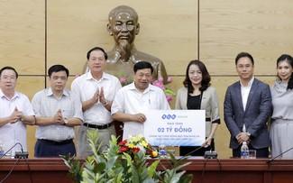 Tập đoàn FLC trao tặng 2 tỷ đồng tại Nghệ An