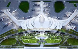 Phối cảnh dự án cảng hàng không quốc tế Long Thành, Đồng Nai. Ảnh: CTV