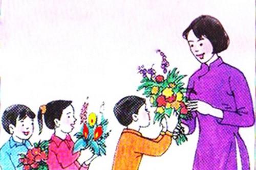 Tặng hoa, quà hay… phong bì cho thầy cô?