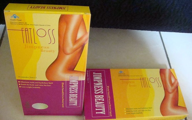 Xuất hiện thuốc giảm béo chứa chất cấm bán trên mạng