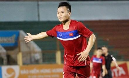 Tiền đạo thủ quân U20 Việt Nam Nguyễn Quang Hải.