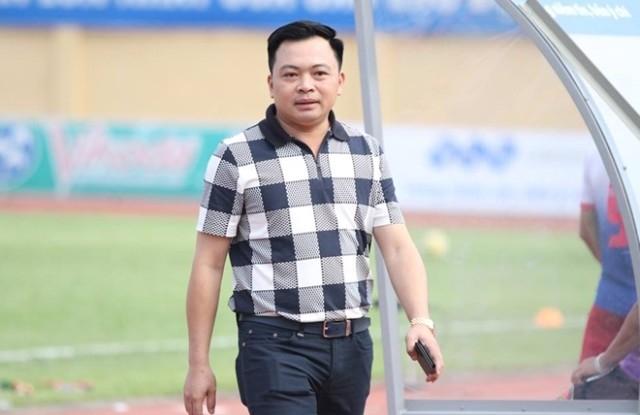Chủ tịch CLB FLC Thanh Hoá Doãn Văn Phương.