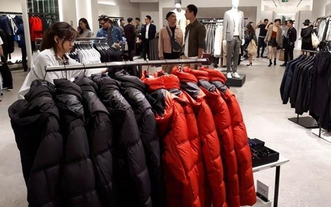 Cửa hàng thời trang Zara khai trương tại Hà Nội.