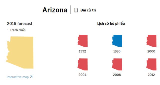 Cục diện bầu cử tổng thống Mỹ tại 9 bang chiến trường - ảnh 9