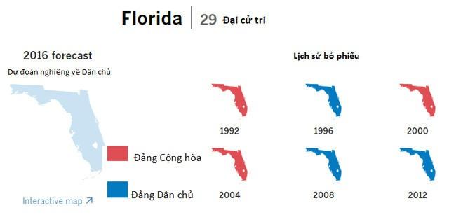 Cục diện bầu cử tổng thống Mỹ tại 9 bang chiến trường - ảnh 1