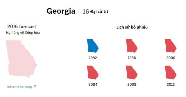 Cục diện bầu cử tổng thống Mỹ tại 9 bang chiến trường - ảnh 8