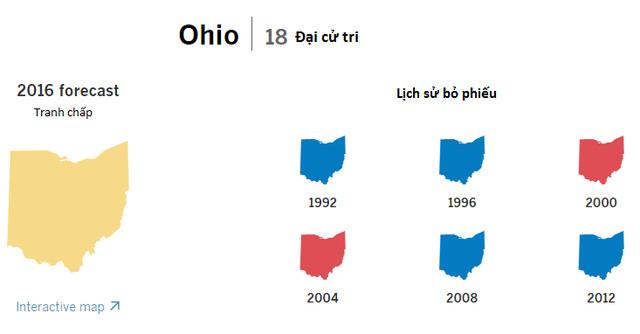 Cục diện bầu cử tổng thống Mỹ tại 9 bang chiến trường - ảnh 2