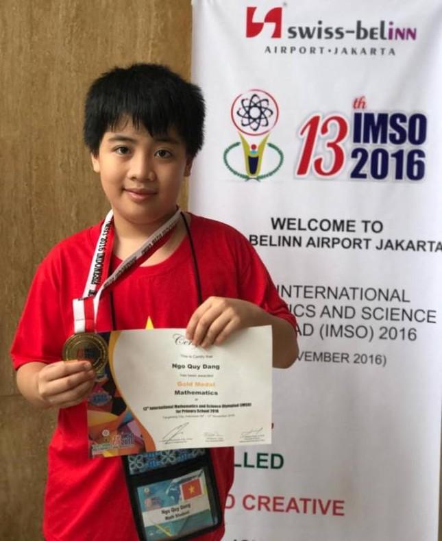 """Gặp gỡ """"cậu bé vàng"""" Olympic Toán và Khoa học quốc tế IMSO - ảnh 1"""