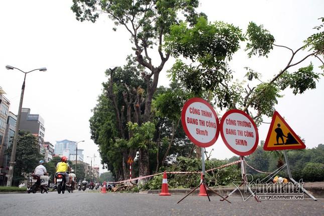 Điều chỉnh phân luồng giao thông qua đường Kim Mã để thi công đường sắt đô thị - ảnh 1