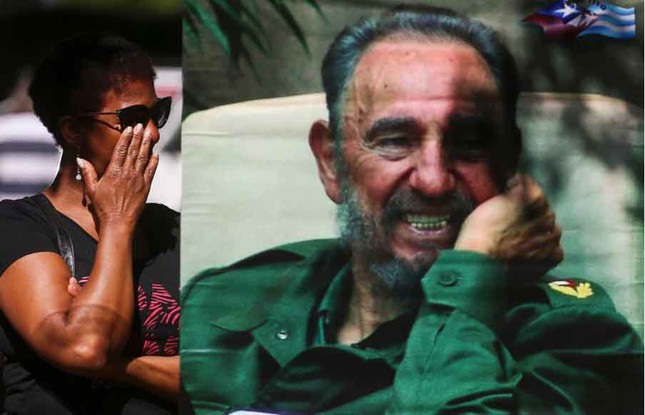 Người dân thế giới tiếc thương lãnh tụ cách mạng Fidel Castro - ảnh 1