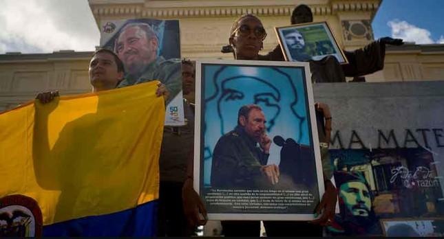 Người dân thế giới tiếc thương lãnh tụ cách mạng Fidel Castro - ảnh 5