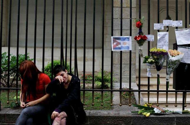 Người dân thế giới tiếc thương lãnh tụ cách mạng Fidel Castro - ảnh 6