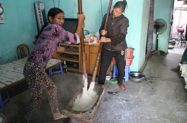 Bánh phồng xứ Lạng vào mùa  - ảnh 1