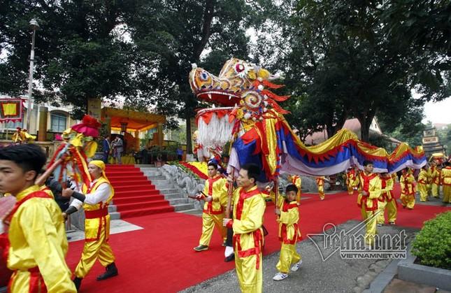 Chủ tịch nước Trần Đại Quang dâng hương ở Hoàng thành Thăng Long - ảnh 2