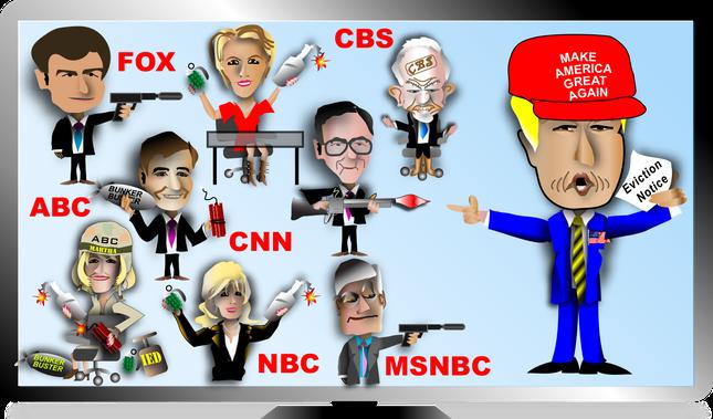 Donald Trump đại chiến báo giới Mỹ - ảnh 3