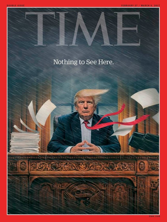 Donald Trump đại chiến báo giới Mỹ - ảnh 2